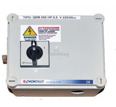 Пульт управления для скважинного насоса QEM 100